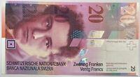 SUISSE - 20 FRANCS (Non Daté) - Billet de banque (NEUF) 94U3045971