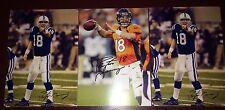 Peyton Manning Denver Broncos Super Bowl football RP auto autograph photo cards
