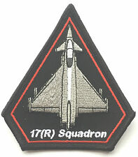 RAF No.17 Typhoon (R) Squadron Royal Air Force Military Embroidered Patch