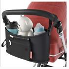 SMART STROLLS Stroller Caddy w/ Detachable Pouch