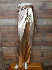 Fashion Nova Journee Metallic Flare Pants HDP9620 Women's Pants Size M NWT
