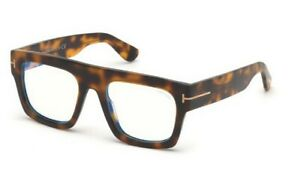 Tom Ford spectacle frame TF5634-B in col 056 havana with case 53mm