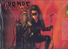 THE CRAMPS FLAMEJOB LP HAND-NUMBERED LIMITED EDITION COLORED RED VINYL