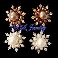 Swarovski Crystal Silver Plated Fashion Earrings
