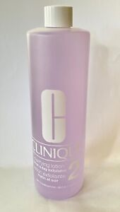 Clinique Clarifying Lotion 2 Dry Combination Skin Jumbo Size 16.5oz/487ml NEW