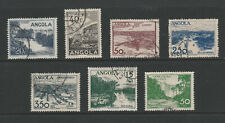 [Portugal - Angola 1949 - Views] complete set in perfect used condition
