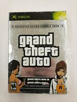 Grand Theft Auto Double Pack (Microsoft Xbox) FREE FAST SHIPPING