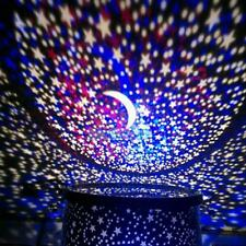 Romantic Sky Star Master Night Light Projector Lamp LED Colourful Stage Lights