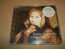 "BARBRA STREISAND "" HIGHER GROUND "" CD ALBUM - UK FREEPOST"