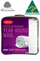 Tontine Australian Washable Year Round Wool Doona|Duvet|Quilt QUEEN RRP $259.95