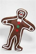 TOO COOL! New Adult Gingerbread Suit Costume Christmas Santa YUM YUM YUM! WOW