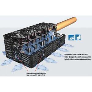 RainCatcher Rainbloc storm water atttenuation/soakaway crate +geotextile wrap
