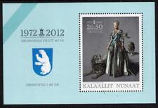 GREENLAND MNH 2012 40th Anniversary of the Coronation Minisheet