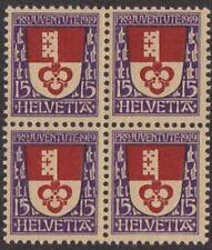 Timbres de Suisse blocs