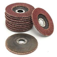 25XAluminium Oxide Flap Sanding Discs Abrasive Angle Grinder Wheel 125MM 80 Grit