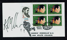 Kirk Muller signed autograph auto Postal Cover Hockey Player and Head Coach