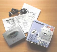 PANASONIC RQ-X11 Walkman Portable Stereo Cassette Player S-XBS System TPS in OVP