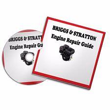 Briggs & Stratton Engine Repair Workshop Manual lawn mower strimmer generator