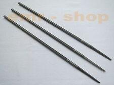 Kettenfeile, Sägekettenfeile, Feilen für Kette Motorsäge, 3 Stück 4,0 mm