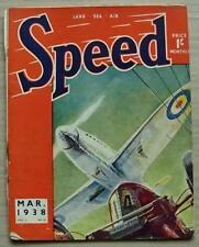 SPEED Magazine March 1938 ERA ACHIEVEMENT Monte Carlo Rally Results