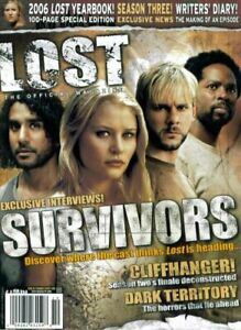 LOST The Official Magazine #6 2006 Yearbook Claire Charlie Eko Sayid 100 Pages