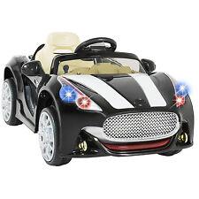12V Ride on Car Kids RC Remote Control Electric Power Wheels W/ Radio & MP3 BK