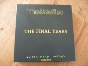 "Beatles: ""The Final Years"" Ltd.Ed. 3 CD+Book+Badge Black JBCD Box 4 Set [QX"