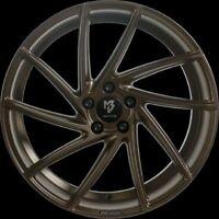 MB Design KV2 Bronze Mat Soie Jante 8.5x20 - 20 Pouces 5x108 Diamètre de Perçage