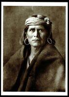⫸ 855 Postcard WALPI MAN, Hopi – Edward Curtis 1921 Photo - New