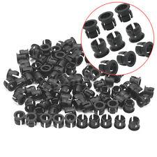100 X Plástico Negro 5mm Soporte Accesorio Práctico para Porta LED Buena Venta