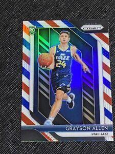 2018 Prizm Grayson Allen Red White Blue Prizm RC Card
