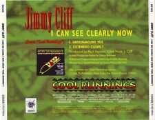 JIMMY CLIFF I Can See Clearly Now reMixes promo CD Single 1993 JOHNNY NASH cover