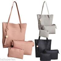 3PCs Fashion Women Handbags Shoulder Bag Satchel Tote Ladies Shopping Purse Bags