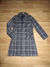 Karierte Damenjacken & -mäntel aus Polyester mit Reißverschluss für die Freizeit