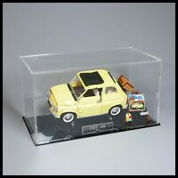 Acrylic Display Case with Internal Stand for LEGO Fiat 500 10271