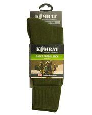 CADET GREEN PATROL SOCKS BRITISH ARMY  HIGH QUALITY COMFORT HIKING SIZE UK 4-7