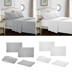 Deluxe 1800 Count Hotel Quality 3/ 4 Piece Deep Pocket Bed Sheet Set
