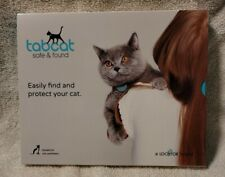New! tabcat Safe & Found Pet Tracking Cat Collar Tracking System And Trainer