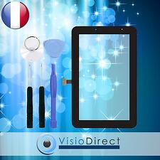 """Vitre ecran tactile pour Samsung Galaxy Tab 2 7.0"""" P3110 noir + adhésif +outils"""