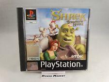 SHREK TREASURE HUNT PLAYSTATION 1 2 3 ONE PS1 PS2 PS3 PSX PAL ITALIANO COMPLETO