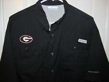 Georgia Bulldogs dress shirt - Columbia Adult Medium