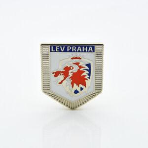 "KHL Lev Prague ""Pennant"" pin, badge, lapel, hockey"