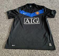 Men's Manchester United Football Club 2009/10 Away Shirt Nike Size Medium