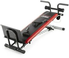 Weider Ultimate Body Works Bench Upper Lower Body Workouts Adjust InclineBench