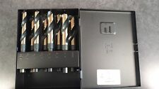 NEW Norseman CTD 92400 8pc S&D Drill Bit Set 9/16-1 Inch with FREE Ultra Lube