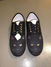 New ListingBradford Exchange Canvas Kitty Cat Shoes 7.5
