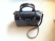 Kate Spade black leather - Large Lane - handbag purse - Excellent Used Condition