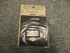 Fotocut 1/32 Hawker oil cooler  K2