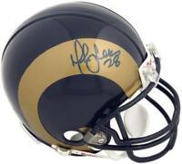 Marshall Faulk St. Louis Rams Autographed Riddell Mini Helmet