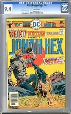 Weird Western Tales  #34   CGC   9.4   NM    white pages